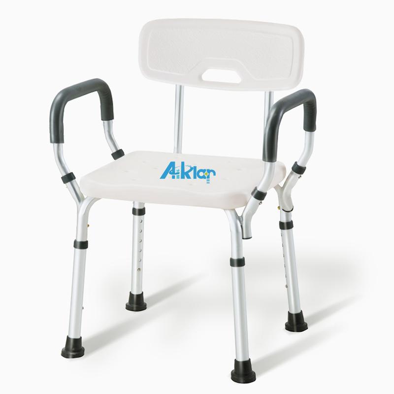 BZ1803A基础医疗淋浴椅带扶手安全洗澡座椅老人洗澡椅残疾人辅助洗浴